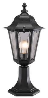 Outdoor Pillar Lights Eld8302 Plr Outdoor Garden Pillar Light Duralite Collection