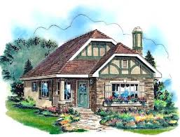 English Style House Plans by English Country Style House Plans Plan 40 122