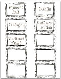 thm pantry labels free printables mrs criddles kitchen