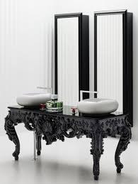 best antique bathroom vanities for elegant homes intended vintage
