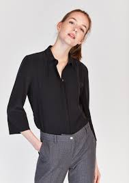 black button up blouse black silk button up blouse tara jarmon