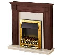 Electric Fireplace Suite Buy Adam Georgian 2kw Electric Fireplace Suite Mahogany U0026 Cream At