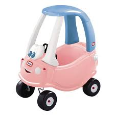pink kid car ride on toys outdoor play the warehouse