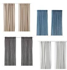 Aina Ikea Curtains Ikea 100 Linen Curtains Drapes U0026 Valances Ebay