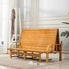 Functional Bedroom Furniture Multi Functional Bamboo Folding Bed Sofa Bedroom Furniture Modern