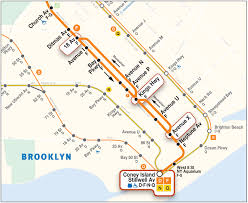 Mta Map New York by Culver Line 2016
