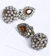 karigari earrings karigari earrings jewellery drop earrings brown