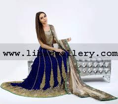 blue wedding dress designer mehdi bridal sharara collection designer mehdi bridal