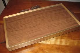 vtg cornwall electric food warming warmer tray wood tone buffet
