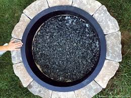 warm up with a diy fire pit living outdoors