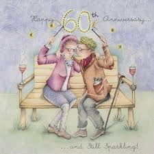 60th Anniversary Card Messages Cards Happy 60th Anniversary Happy 60th Anniversary Berni