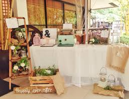wedding backdrop design philippines registration table wedding details rustic and vintage by not