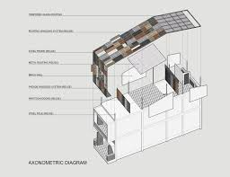house diagrams gallery of vegan house block architects 26 architects