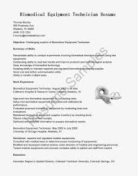 Electronics Technician Resume Samples by Sample Fax Letter Biomedical Engineer Cover Letter Fax Cover
