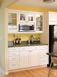 Depth Of Kitchen Wall Cabinets Home Decoration Ideas by Saving Space 15 Ways Of Mounting Microwave In Upper Cabinets
