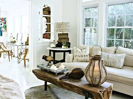 tree trunk coffee table shabby chic style living room by mina brinkey