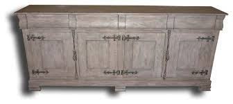 Antique White Sideboard Buffet by Philippe Pickled Antique White Sideboard Traditional Buffets