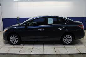 blue nissan sentra 2014 pre owned 2014 nissan sentra sv 4dr car in morton 669229 mike