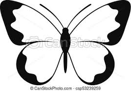 small butterfly icon simple style small butterfly icon