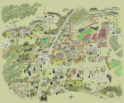 Uh Campus Map Campus Map No Key Hamilton College Huge Jpg 1600 1331 Place