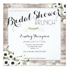wedding shower brunch invitations bridal shower brunch invitations announcements zazzle