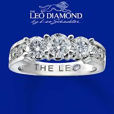 clearance engagement rings clearance 14k white gold 2 carat t w leo diamond ring