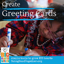create greeting cards doing together