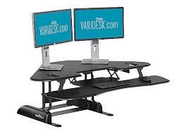 Sit Stand Desk Varidesk Standing Desk Solution Cube Corner 48 Sit Stand Desk