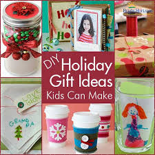 diy holiday gifts kids can make craft gift ideas for teachers