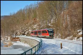 Wetter Bad Schlema Die Erzgebirgsbahn Im Winter Januar 2017