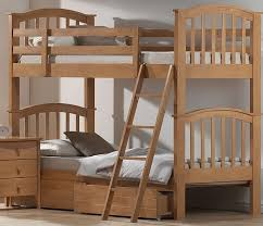 Bunk Beds With Drawers Columbia Bunk Bed With  Raised Panel Bed - Wooden bunk beds with drawers