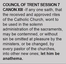 Council Of Trent Summary Francis Writing On Th Council Of Trent Explicitly Affirms The