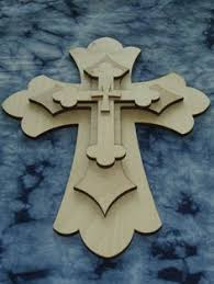unfinished wood crosses unfinished wood layered crosses stacked wooden cross cut outs part