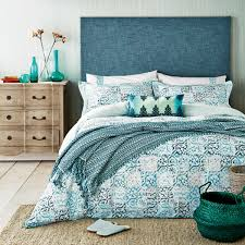 jade green bedding verona tile patterned bed linen at bedeck