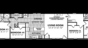 4 Bedroom Single Wide Floor Plans 29 Top Photos Ideas For Single Wide Mobile Homes Floor Plans