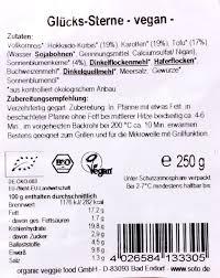 Bad Endorf Plz Soto Bio Glücks Sterne 250 G Amazon De Lebensmittel U0026 Getränke