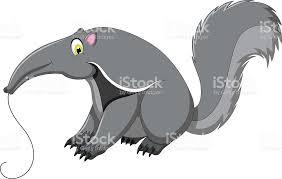 imagenes animadas oso dibujos animados lindo oso hormiguero arte vectorial de stock y