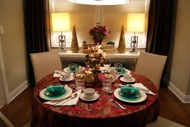 decorations gorgeous and elegant golden christmas ornament table