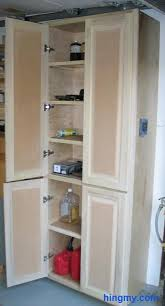 Janitorial Storage Cabinet How To Build A Full Length Storage Cabinet Diy Tips From Hingmy