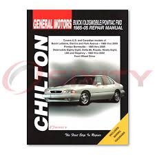 pontiac bonneville chilton repair manual se ssei base le sle gxp