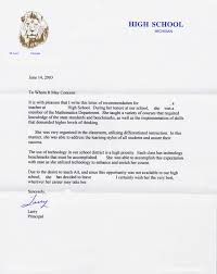 recommendation letter for high student from family