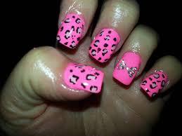 nail art leopard print designs gallery nail art designs