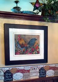 country rooster prints dining room decor fine art chicken prints