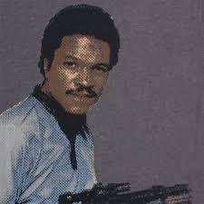 Lando Calrissian Meme - lando calrissian blaster tshirtvortex