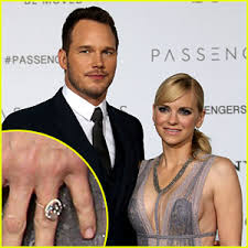 upgrading wedding ring chris pratt got faris a wedding ring upgrade faris