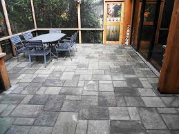 Great Patios Home Depot Patio Stones Great Patio Cushions With Patio Pavers