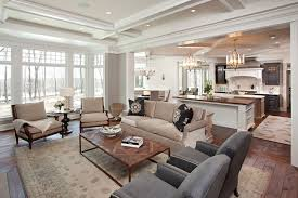 paint color for open concept kitchen living room centerfieldbar com