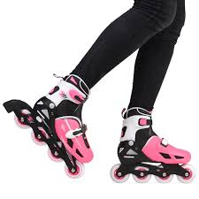 womens roller boots uk loch children s size adjustable inline skates pink skating