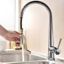 Chrome Kitchen Sink Modern Pull Out Kitchen Sink Mixer Taps Polished Chrome Kitchen