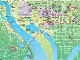washington dc trolley map washington dc maps route map for dc ducks